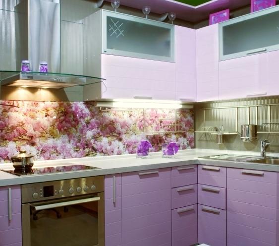 Кухни с изображением фартук для кухни