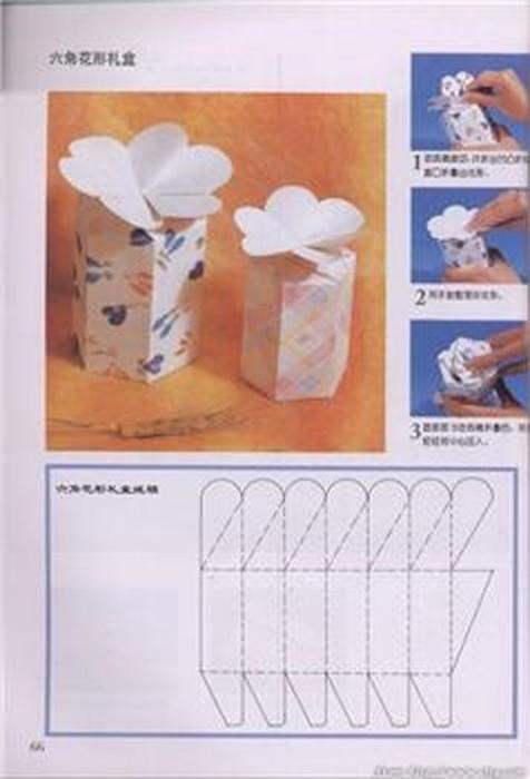 ...подарок станет гораздо интереснее, если его упаковать в такие вот оригинальные коробочки, сделанные своими руками.