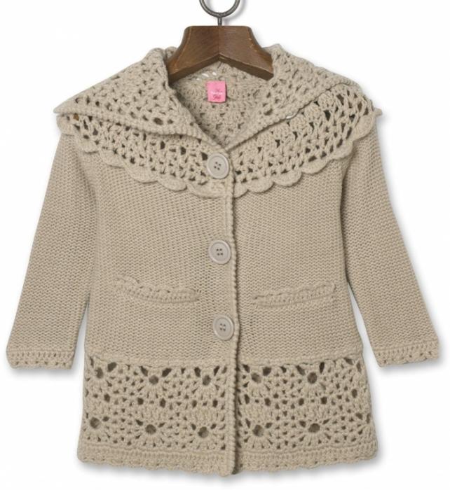 jacket pattern, free knitting and crochet pattern, kids craft ideas - crafts ...