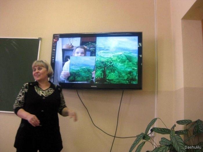 Ольга Николаевна представляет технику для тех,кто не умеет рисовать:)
