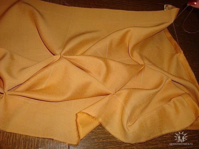 Как сделать юбку с буфами
