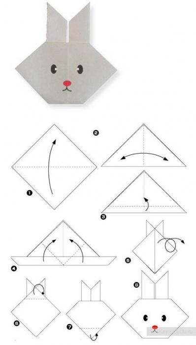 Лебедь оригами своими руками из бумаги