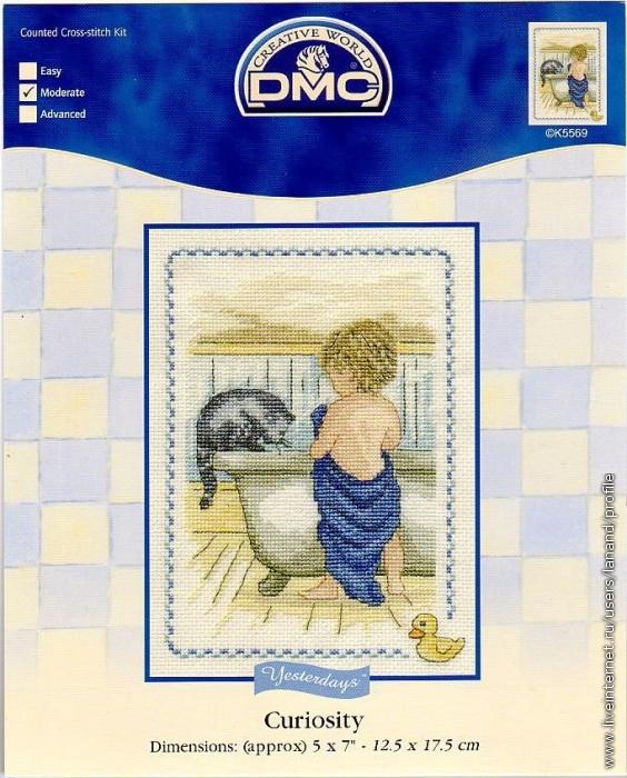 Малыши DMC -вышивка крестом.
