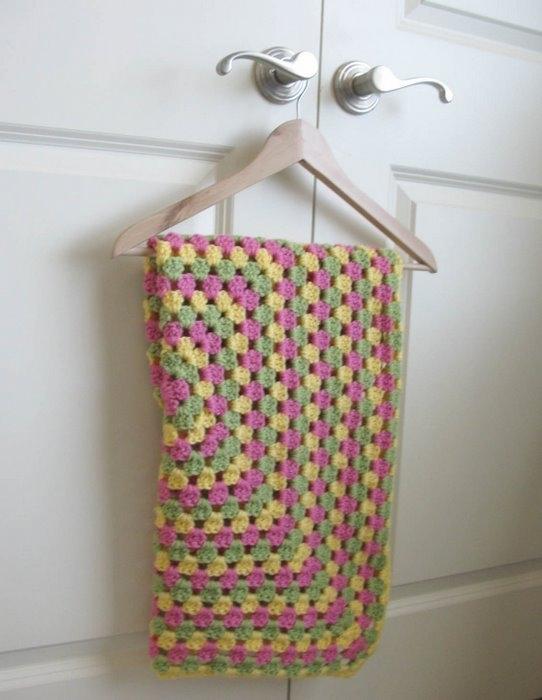 漂亮的钩花毯(11) - 柳芯飘雪 - 柳芯飘雪的博客