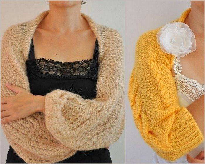 Идеи для вязания болеро