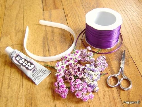 Как сделать красивый цветок на голову - Sc-construction.ru