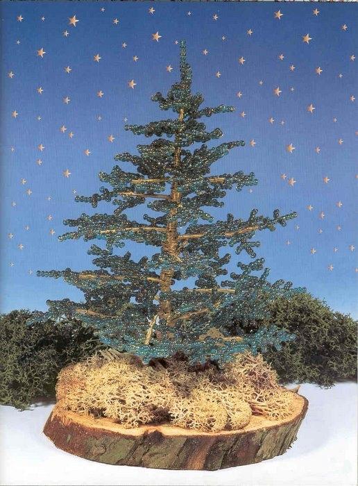 свой цитатник или сообщество!  Деревья из бисера.  Прочитать целикомВ.
