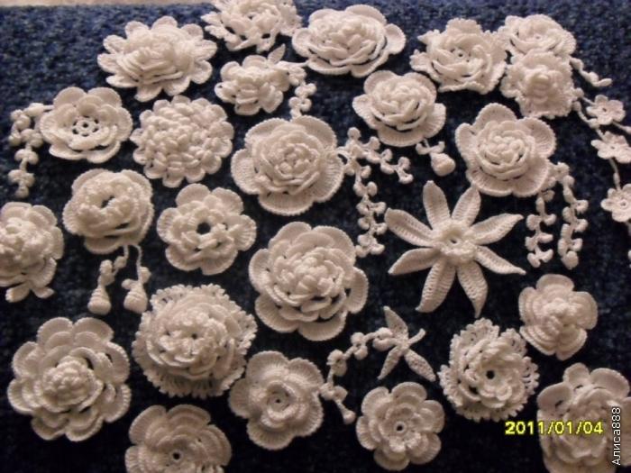 爱尔兰花边的花型欣赏(可仿) - maomao - 我随心动