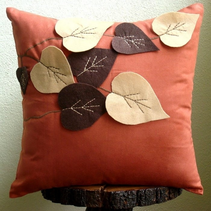 Подушка для дивана своими руками мастер класс
