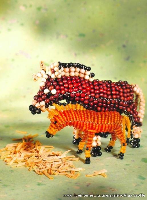 Книга: Животные из бисера.  Ингрид Морас.  Прочитать целикомВ.