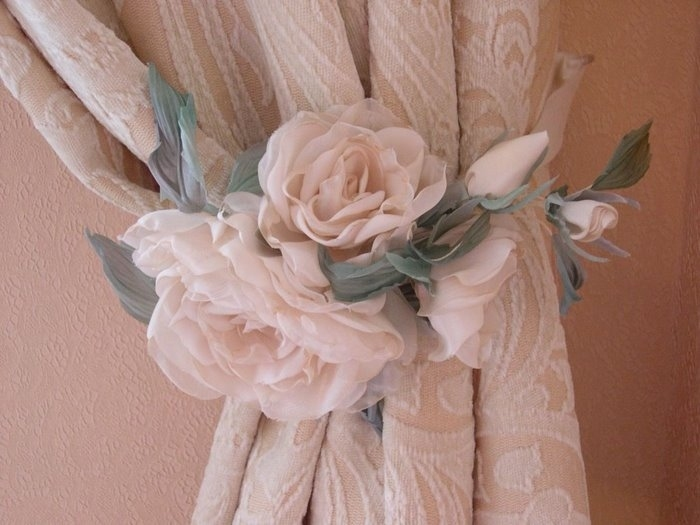 Декор из ткани своими руками фото