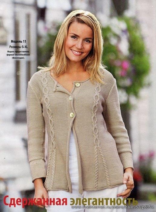 Вязание спицами для полных женщин
