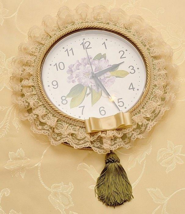 Декорирование часов своими руками 60