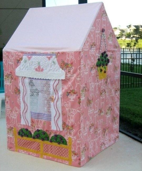 Дом из коробки своими руками для детей