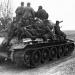 Танковый десант. Германия, 1945