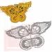 бабочек, связанных крючком + схемы. .  Кликните на картинку, чтобы увидеть полноразмерную версию. .