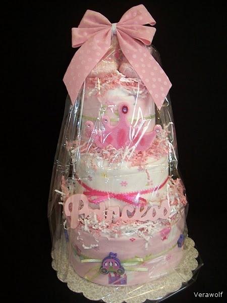 Торт на рождение ребенка мастер класс