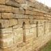 Стена, оставшая от крепости, посроенной в 1777 году