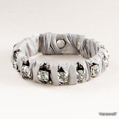 """rock crystal"" bracelet."