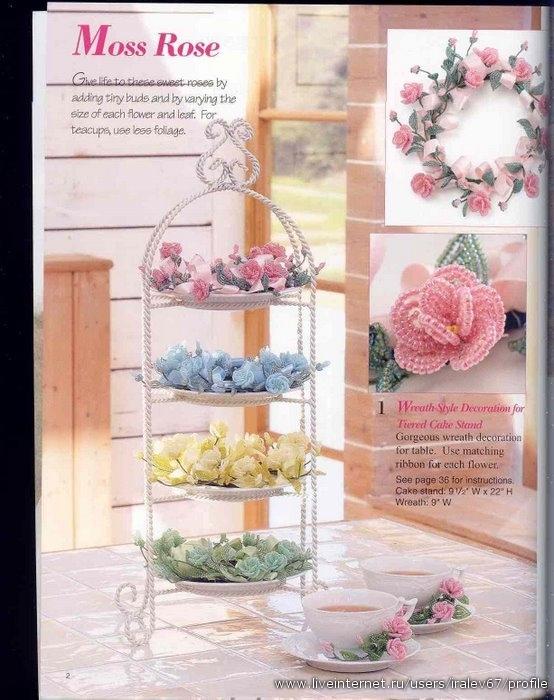 Соковыжималка пресс: цветет малина.  Как плести цветы из бисера ВОЛШЕБНЫЙ МИР СВОИМИ РУКАМИ.