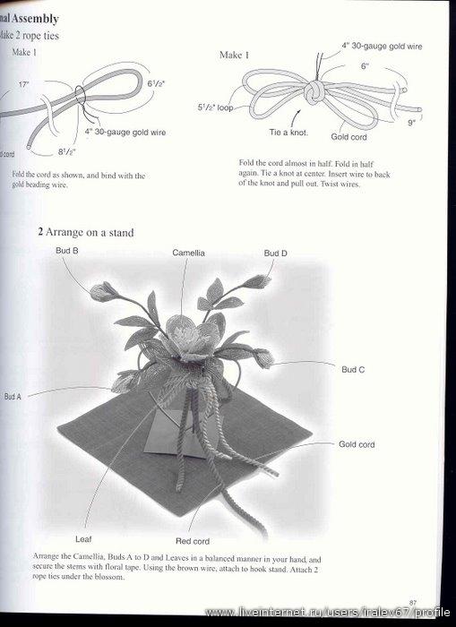 цветочных композиций из бисера: венки, букеты, картины.