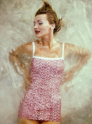 Ретро мода - Купальный наряд 50-х.