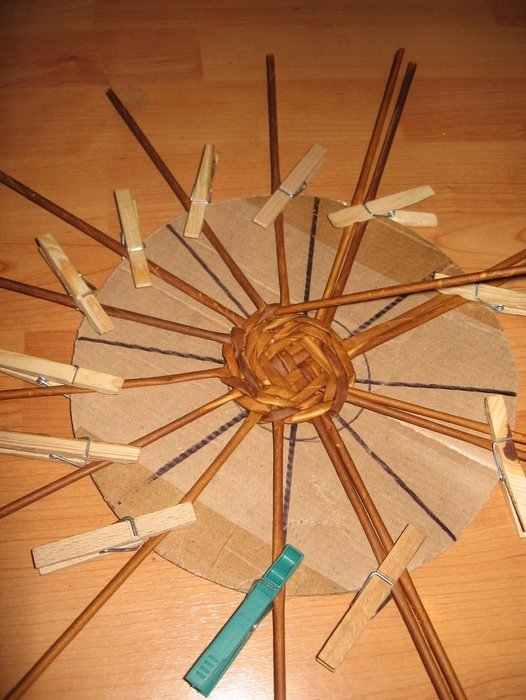 Basket Weaving Paper Crafts : Recycling paper weaving basket tutorial crafts ideas