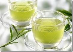 В Китае принято пить крепкий зеленый чай.