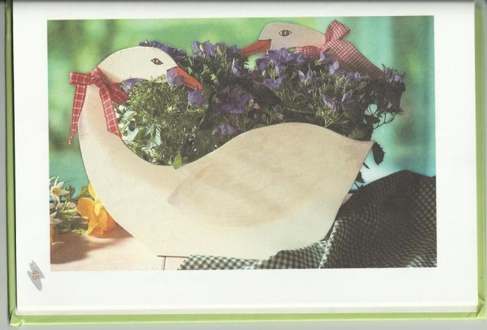 Лебеди-ваза