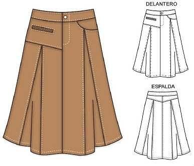 Скачать фасонов юбок с выкройками онлайн