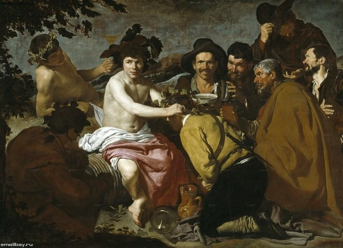Триумф Вакха, 1629 Музей Прадо, Мадрид