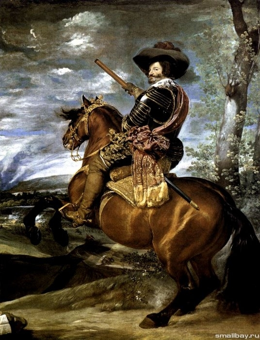 Портрет графа-герцога Оливареса, 1635