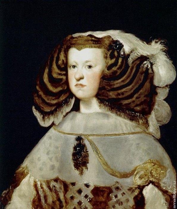 Королева Мария-Анна Австрийская, 1653
