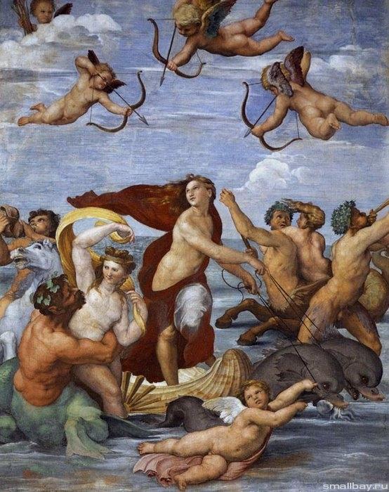 Триумф Галатеи 1511