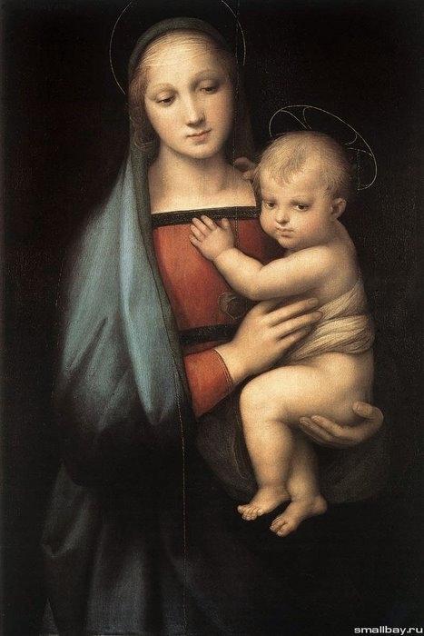 Мадонна Грандука 1504
