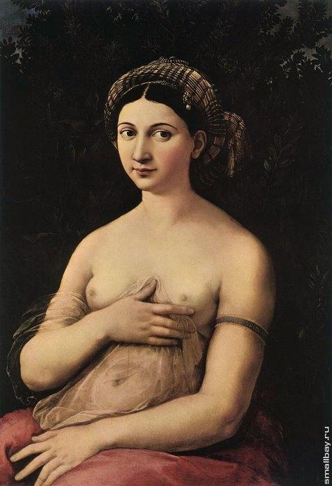 Форнарина или Маргерита Лути, 1519