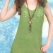 Платье с ленточным кружевом