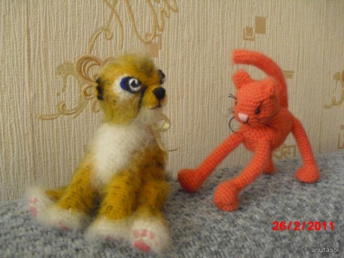 Гепардик и кот Блудень