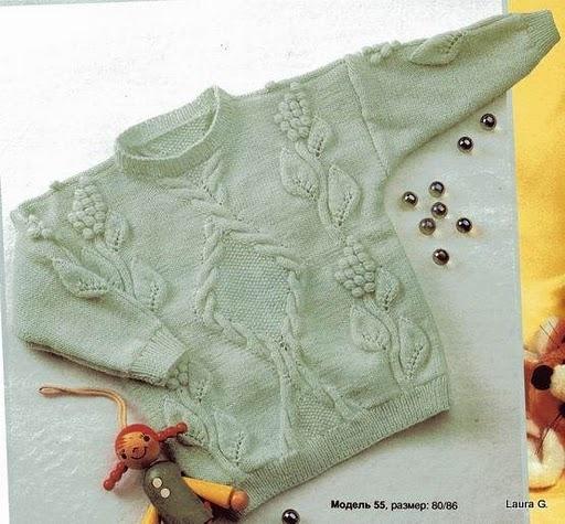 вязание для детей спицами кофты - Сумки.