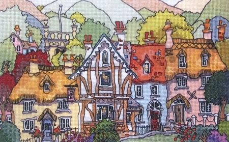 Часть 45. michael powell.  Английская деревня.  Секретный сад.