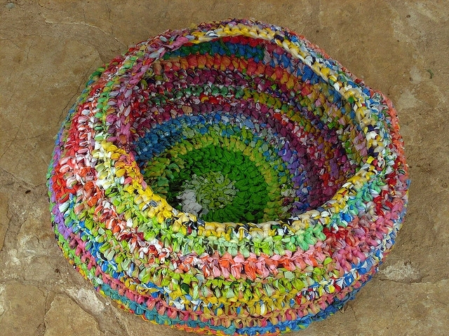recycling ideas: crochet patterns