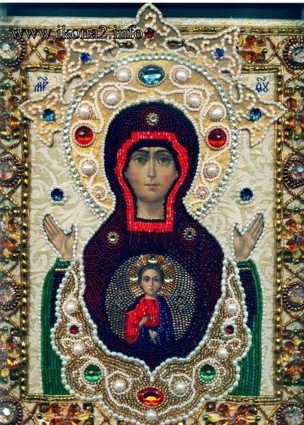 """Чудотворный образ Божией Матери  """"Знамение """" - Корчемная."""