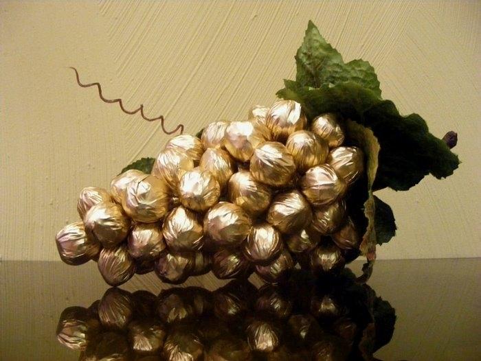 Рукоделие из конфет