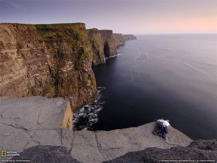 Cliff Moher.Irlandiya.