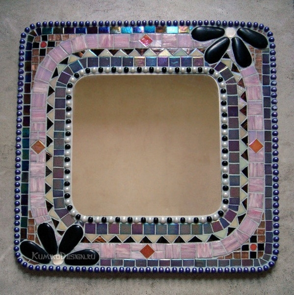Рамка из мозаики для фото своими руками