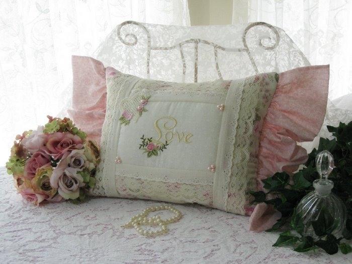 Подушка прованс своими руками