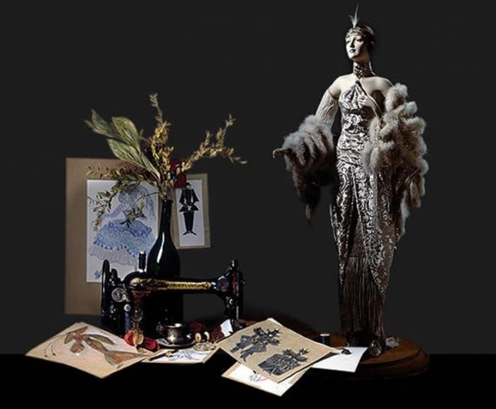 Первая русская художница Александра Кукинова. Магия, высокое искусство.