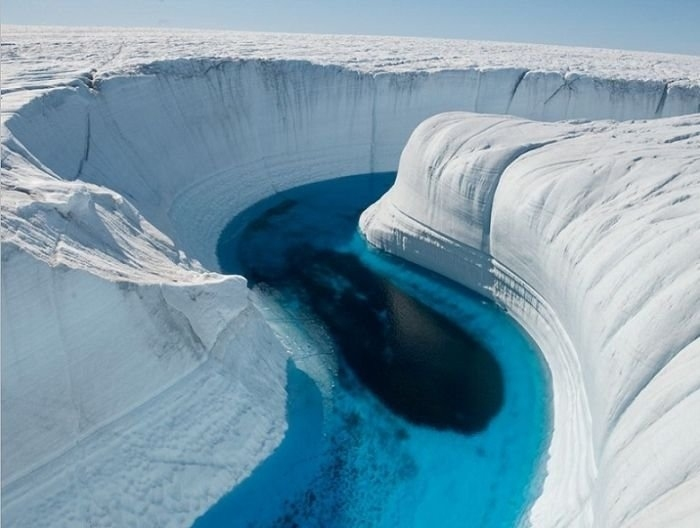 Ледяной каньон, Гренландия