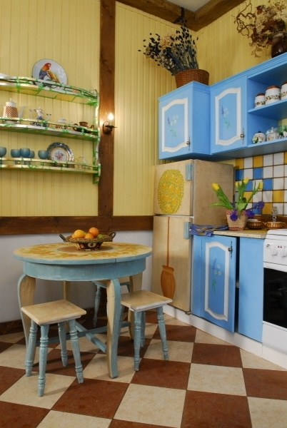 Идеи интерьеров для кухни.  Фото.