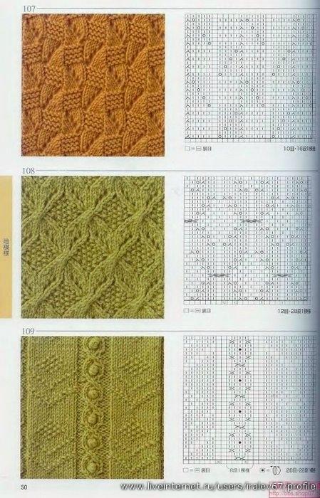 Knitting patterns book 250 (Узоры по вязанию спицами и крючком.